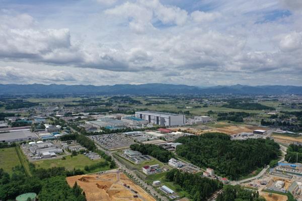 北上市風景