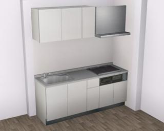 1LDK仕様-システムキッチン