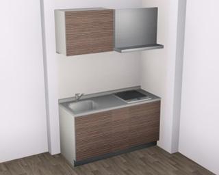 1R仕様-システムキッチン
