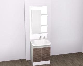 1R仕様-洗面化粧台